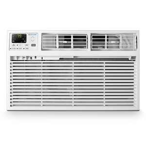 Cool-Living 10,000 BTU 230-Volt Through-the-Wall Air Conditioner with Heat, White