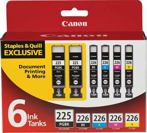 Canon PGI-225/CLI-226 Black/Color Ink 4530B012