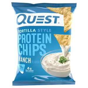 Quest Ranch Flavor Tortilla Style Protein Chips, 1.1 oz