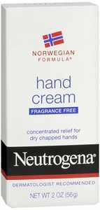 Neutrogena Norwegian Formula Hand Cream Fragrance-Free 2 oz (Pack of 6)