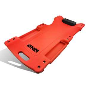 """DNA MOTORING TOOLS-00005 DNA MOTORING Red Vehicle Repair Low Profile Automotive Creeper W/Padded Headrest 40"""" L X 19"""" W"""