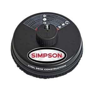 Simpson 15 in. Surface Cleaner Rated up to 3700 PSI