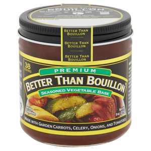 Better Than Bouillon Premium Seasoned Vegetable Base, 8 oz