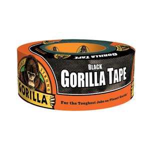 """Gorilla Black Tape, 1.88"""" x 12 yd Roll"""