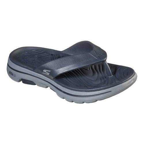 Skechers Men's Foamies GOwalk 5 Cabana Flip Flop Sandal