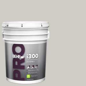 BEHR PRO 5 gal. #PPU26-10 Chic Gray Eggshell Interior Paint