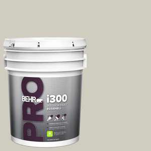 BEHR PRO 5 gal. #N320-2 Toasty Gray Eggshell Interior Paint