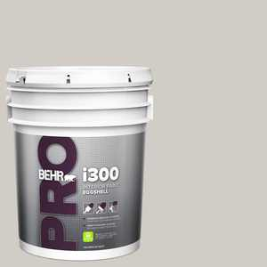 BEHR PRO 5 gal. #HDC-NT-20 Cotton Grey Eggshell Interior Paint