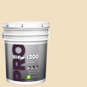 BEHR PRO 5 gal. #22 Navajo White Eggshell Interior Paint