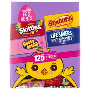 SKITTLES, STARBURST & MORE Easter Assorted Candy 125 pieces 36.12 oz.