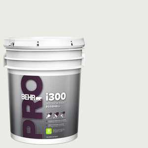 BEHR PRO 5 gal. #PPU12-12 Gallery White Eggshell Interior Paint