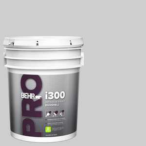 BEHR PRO 5 gal. #N460-2 Planetary Silver Eggshell Interior Paint