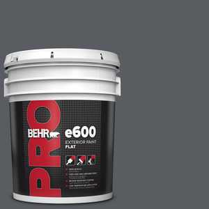 BEHR PRO 5 gal. #PPU18-02 Pencil Point Flat Exterior Paint