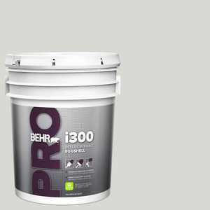 BEHR PRO 5 gal. #N360-1 Seagull Gray Eggshell Interior Paint