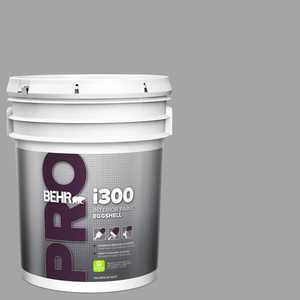 BEHR PRO 5 gal. #PPU26-07 Smokey Wings Eggshell Interior Paint