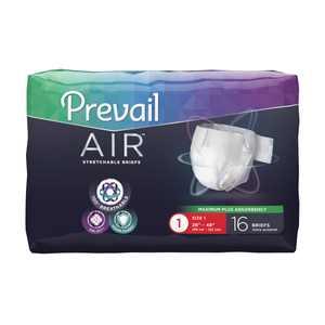 Prevail Air Briefs AIR-012 Size 1 Medium 26 to 48 Inch Waist White Bag of 16