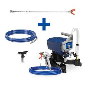 Graco Magnum Project Painter Plus Stand Airless Paint Sprayer with 20 in. Extension, 25 ft. Hose and TRU311 Tip