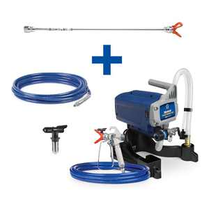 Graco Magnum Project Painter Plus Stand Airless Paint Sprayer with 20 in. Extension, 25 ft. Hose and TRU315 Tip