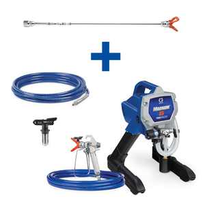 Graco Magnum X5 Stand Airless Paint Sprayer with 20 in. Extension, 25 ft. Hose and TRU315 Tip
