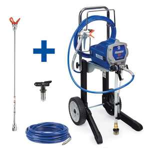 Graco Magnum X7 Cart Airless Paint Sprayer with 20 in. Extension, 50 ft. Hose and TRU517 Tip