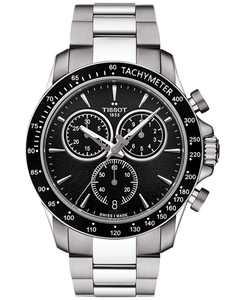 Men's Swiss Chronograph V8 Stainless Steel Bracelet Watch 42mm T1064171105100