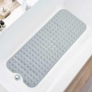 Shower Mat , Bath Mat for Tub, 40 x 16 Inch Bath Mats for Bathroom & Bathtub Mat Non Slip, Superior Grip&Drainage