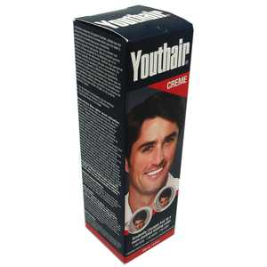 Youthair Conditions & Styles Creme No More Gray Hair for Men 8 fl oz / 236 ml
