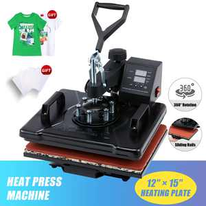 Swing Away 12x15 Heat Press Machine Digital Transfer Sublimation Machine