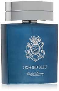 English Laundry Oxford Bleu Eau De Parfum Spray, Cologne for Men, 3.4 Oz