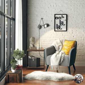 Queer Eye Kayden Accent Chair, 2-Tone Gray