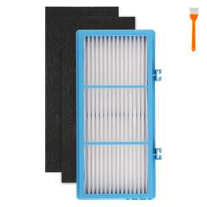 Replacement HEPA Filter, TSV Replacement Filter Including 1 HEPA & 2 Carbon Pre Filter, Fit for Holmes Hepa Type Total Air Filter HAPF30AT, AER1 Series & Bionaire Units