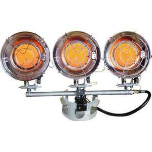 Mr. Heater F242915 10,000-45,000 BTU/Hr Adjustabnle Triple Tank Top Heater