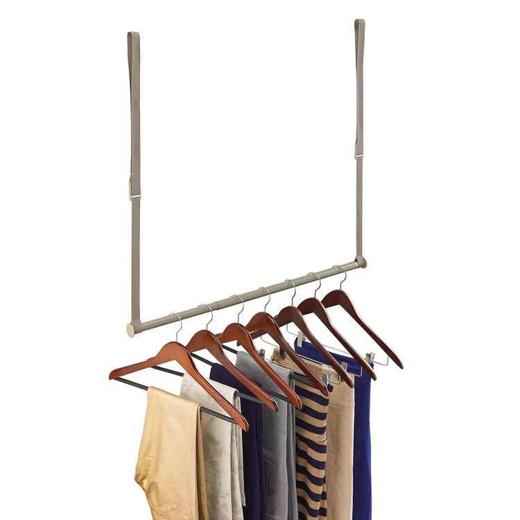 ClosetMaid Double Hang Rod, Nickel