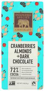 Endangered Species Chocolate Bar Wolf, 3 Oz
