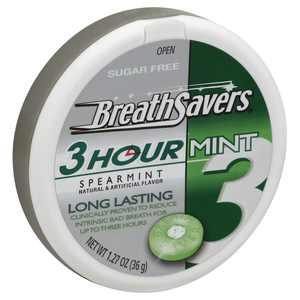 Breath Savers Sugar Free Mints in Spearmint Flavor, 1.27 Oz