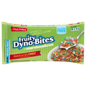 Malt-O-Meal Breakfast Cereal, Fruity Dyno-Bites, Marshmallows, 35 Oz Bag