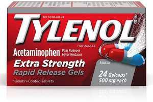 TYLENOL Rapid Release Gels 24 ea (Pack of 3)