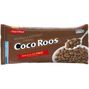 Malt-O-Meal Breakfast Cereal, Coco Roos, 38 Oz Zip Bag
