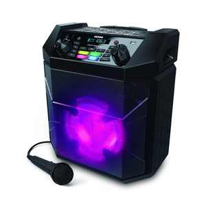 Ion Audio Party Boom FX High-Power Bluetooth-enabled Rechargeable Speaker with Lights