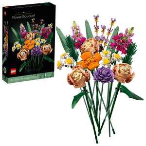 LEGO Flower Bouquet 10280; A Unique Flower Bouquet and Creative Project for Adults (756 Pieces)