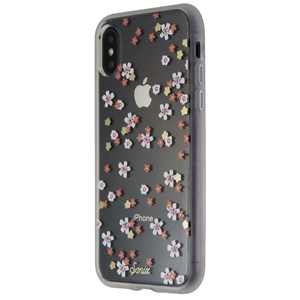Sonix Rhinestone Floral Bunch Protective Clear Case for Apple iPhone X/XS