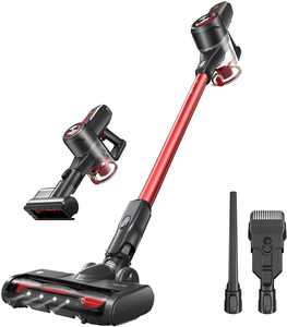 Kyvol V20 Cordless Vacuums, 25,000 pa Strong Suction, 40 mins Runtime, Lightweight, Detachable Battery, 2 in 1 Cordless Stick Vacuum for Deep Clean Pet Hair Carpet Hard Floor, 3 Speed Modes