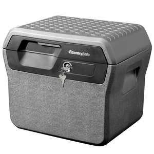 SentrySafe FHW40100 Fire-Resistant File Safe Box and Water-Resistant File Safe Box with Key Lock 0.66 Cu. ft.