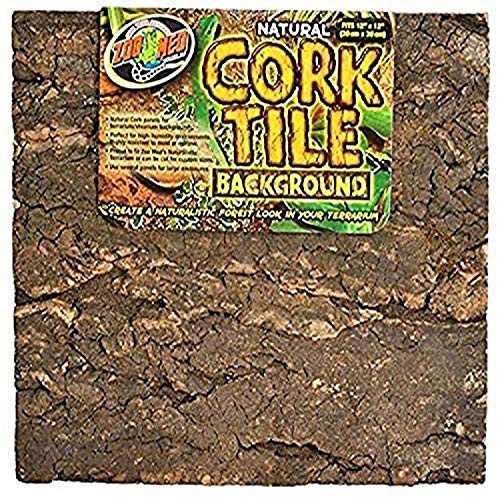 Zoo Med Natural Cork Tile Background 12 x 18 in