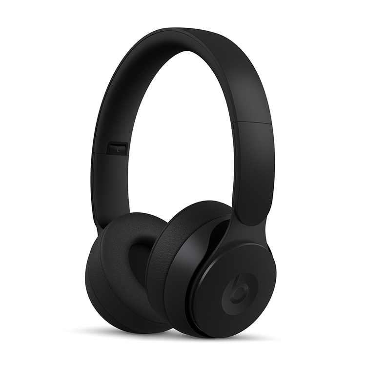 Beats Solo Pro Wireless Noise Cancelling On-Ear Headphones with Apple H1 Headphone Chip - Black