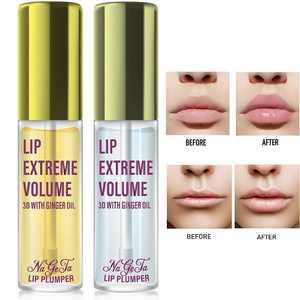 Lip Plumper Gloss Kit - Instant Volumising Lip Pump Enhancer Fuller Thicker Moist