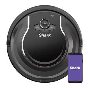 Shark ION Robot Vacuum, Wi Fi Connected, Works with Google Assistant, Multi Surface Cleaning, Carpets, Hard Floors (RV750)