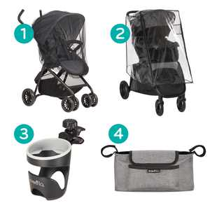 Evenflo Stroller Accessories-Starter Kit Assortment