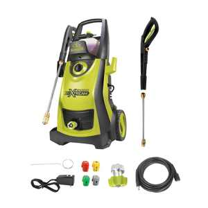 Sun Joe SPX3000-XT Electric Pressure Washer , 2200-PSI Max , QC Lance , 4-pc Tip Set , Foamer Cannon