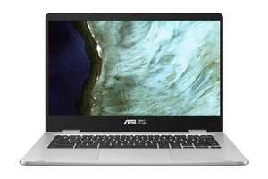 "ASUS C423 14"" Celeron 4GB/64GB Chromebook, 14"" HD Nano-Edge Display, Intel Celeron N3350, 4GB DDR4, 64GB eMMC, Chrome OS, C423NA-WB04 (Google Classroom Ready)"